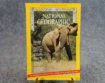 National Geographic Magazine 1969 February