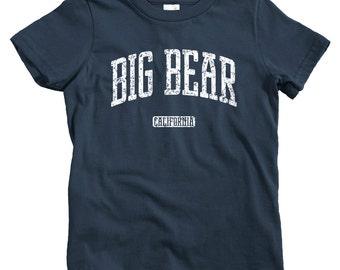 Big Bear Hoodie - Men S M L XL 2x 3x - Big Bear California Hoody, Sweatshirt, Cali, Ski - 4 Colors