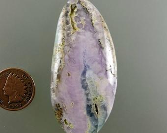 Smithsonite rose Cabochon, Smithsonite Cab, Cab violet rose, Smithsonite créateur Cab, pendentif cabochon, cadeau, C2315, fabriqués à la main par 49erMinerals