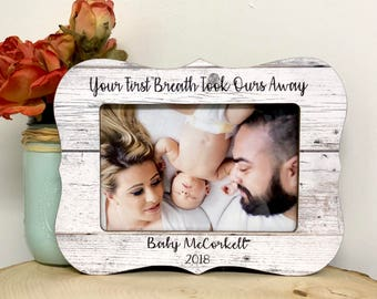 Parents gift ideas etsy baby frame ultrasound frame personalized baby baby shower gift idea sonogram frame negle Gallery