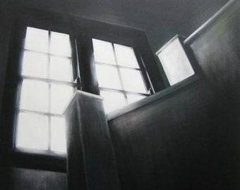 Dark Light, (Original painting)