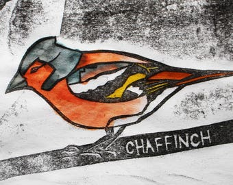 Chaffinch Card | Greetings Card | British Birds | Printed in the UK on Recycled Card