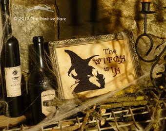 The Witch is IN  - E-pattern-