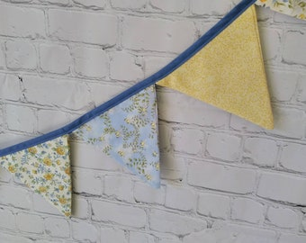 Bunting Flag Banner,  Vintage Inspired, Glamping, Home decor Party Backdrop Bridal Shower, Barn Wedding