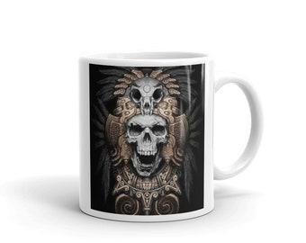 Aztec warrior Mug