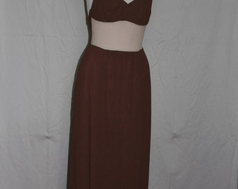 Chocolate Brown Dress