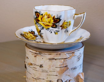 Society Tea Cup and Saucer