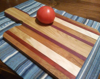 Cutting Board made from Domestic and Exotic woods