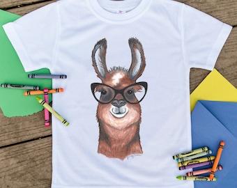 Alpaca, Llama shirt, Farm animal shirt, Toddler shirt, Kids shirt, Cute Toddler Tshirt, Unique Clothes, Toddler Clothes, Hipster animal