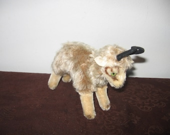 Steiff Chamois Buck/Gemse 1960s - 1960s Steiff German Mohair Buck/Chamois Gemse Green Eyes
