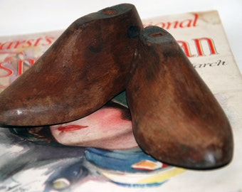 Genuine  Vintage Wooden Lasts for Children's Shoes-- Free Shipping!