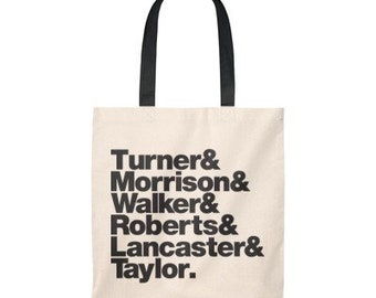 Personalised Rock Band Line-Up Cotton Tote Bag (Ships from USA)