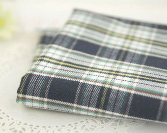 Yarn Dyed Plaid Cotton Fabric - By the Yard 68551