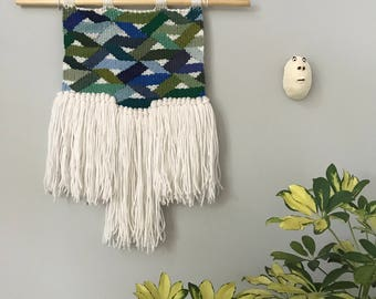 Kaleidoscope//Woven Tapestry//Wall Decor