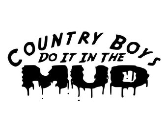 Country boy decal | Etsy