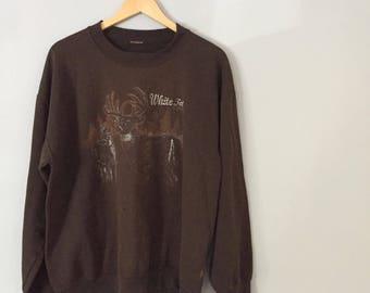 Vintage Worn Woodland Sweatshirt