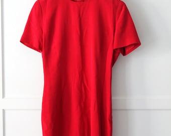 Collection silk short sleeve dress - Sz 4