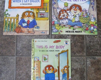 Three Mercer Mayer Books - Softcover