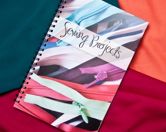 Sewing Project Journal - Get Organized - Great Gift for Sewers