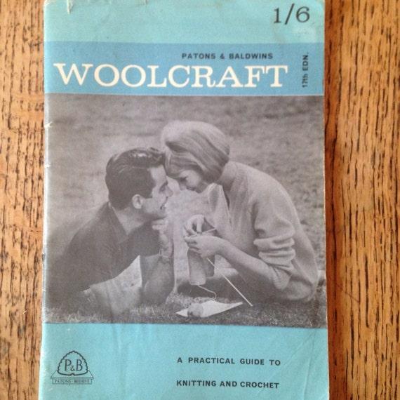 Vintage Knitting Patterns Patons And Baldwins Woolcraft Knitting