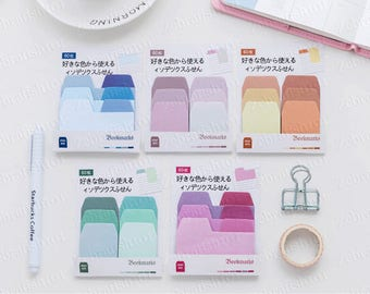 Pastel Color Divider Tab Index Tab Sticky Notes Bookmark Sticker Marker Memo Flags Bullet Journal Planner
