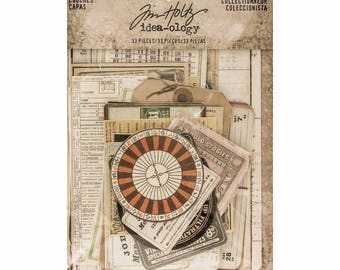 Tim Holtz Idea-ology Layers: Collector