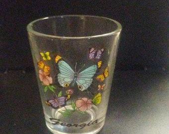Georgia butterfly's shot glass