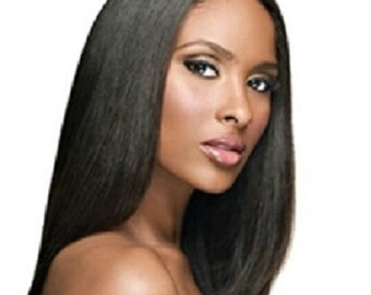 3 Bundle-Dark Brown- LUXURY Hair Bundles- Virgin Remy-Try Before You Buy-Burmese Straight-UNPROCESSED GUARANTEED!Pay For It Later 'See How'
