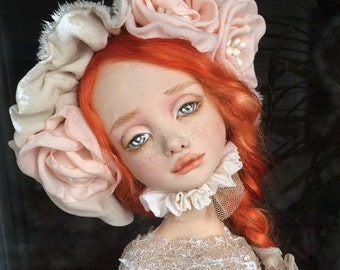 Art doll collectible Lily
