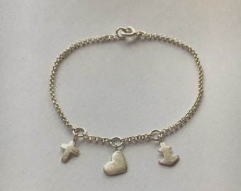 Faith Love Hope Bracelet