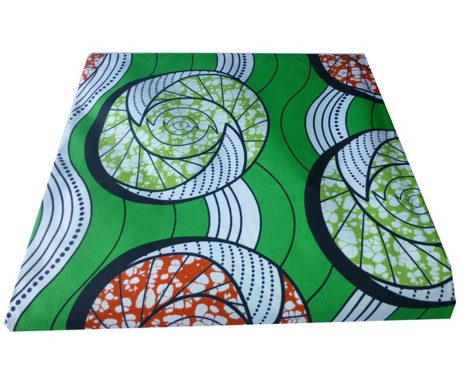 African Print Fabric For Dressmaking and Craft Making/Ankara Print Sold BY FAT QUARTER