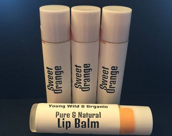 Sweet Orange || Organic Lip Balm