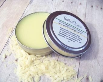Helichrysum & Tamanu Wound Salve- Herbal Neosporin- Boo Boo Balm- Bug Bites- Vegan- 1oz