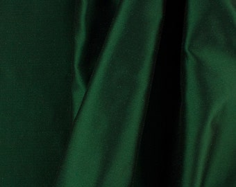 "Solid Taffeta Fabric - Green - Sold By The Yard 58""/60"" Width"
