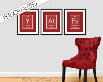 Choose Your Own Elements, Personalized Gift, Custom Name Sign, Gifts for Teachers, Classroom Decor