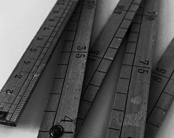 Ruler, small or large.