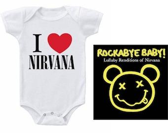 Nirvana Heart Baby Gift Set