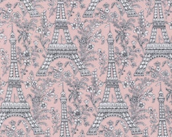 Bloom Eiffel Tower from Michael Miller 1 yard