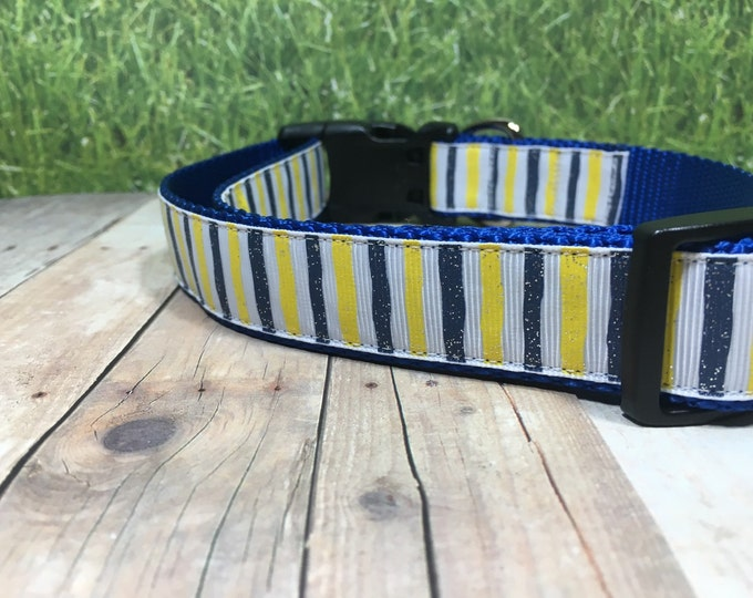 "The Leslie | Designer 1"" Width Dog Collar 