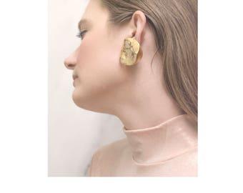 Sold Out / Double Dutch Earrings / 1980s Earrings / Statement Jewelry / Sculptural Earrings