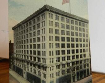 Postcard Chicago Illinois  Hearst Building 1913