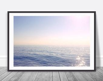 Ocean Photograph, Wall Art, Nautical Decor, Digital Download, Ocean Print, Ocean Poster, Waves, Teal Decor, Ocean Photography, Printable