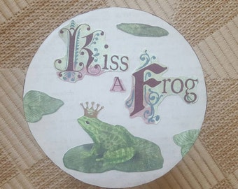 Mini Decorative Stool, Fairytale, Frog Stool
