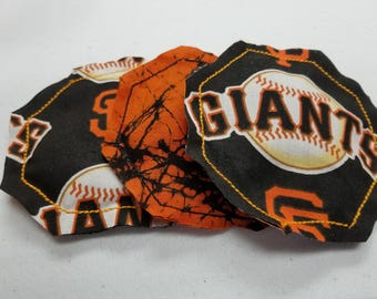 San Fransico giants Reusable dryer sheets... These are so cute and very usefull work great set of 3