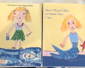 Beach Box, Mermaid Box, Beach Theme, Personalized Box, Gift Box