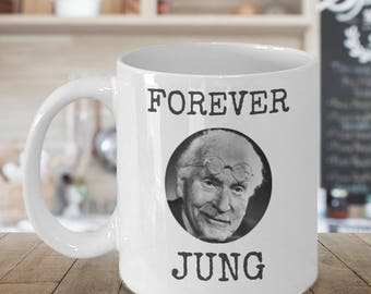 Psychology coffee mug - Forever JUNG cup - funny psychologist gift