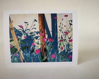 Wallflowers - Greeting Card