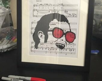 Elton John Rocket Man Art