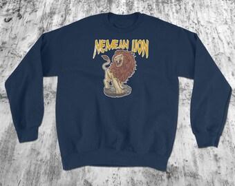 Legendary Lion, Hercules, Lion Sweatshirt - Nemean Lion - Greek Mythology, Creatures - Lion Shirt - King of Beast  - Legendary Creatures™