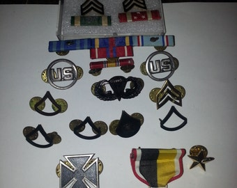 Vintage 1950s United State Air Force Ribbons and Medals
